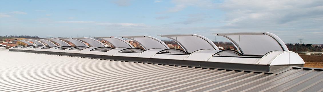 Egyedi sávfelülvilágító kupolák
